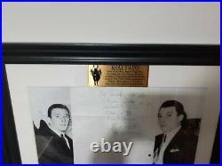 The Krays Reg Kray Hand Written Letter London Gangster Autograph signed rare