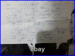 The Krays Reg Kray Original hand Written Letter London Gangster