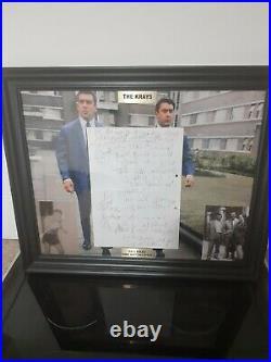 The Krays Reg Kray Original hand Written Signed Letter Autograph London Gangster
