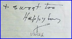 The Philadelphia Story Katharine Hepburn Hand Written Letter JG Autographs COA
