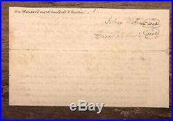Thomas Jefferson Signed Handwritten Letter Psa/dna