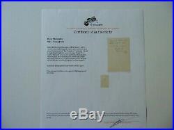 Towers of Trebizond Rose Macaulay Hand Written Letter JG Autographs COA