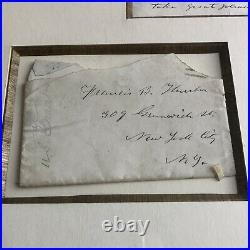 ULYSSES S. GRANT JSA LOA Handwritten Autograph Letter Signed President