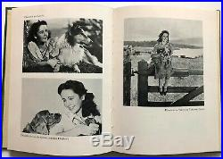 Ultra Rare Elizabeth Taylor Age 14 Hand Written Signed Letter-n-1st Edition Book
