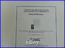 VERY RARE! Optical Fiber Robert D. Maurer Hand Written Letter Todd Mueller COA