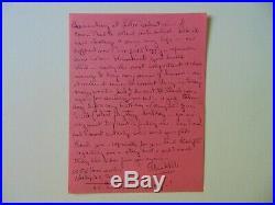 VERY RARE! Show Girl Alice White Hand Written Letter Todd Mueller COA