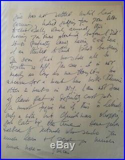 Vivien Leigh Handwritten Letter