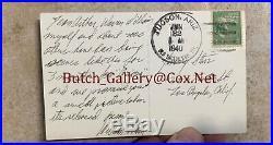 WILLIAM HOLDEN signed handwritten letter autograph 1940 ARIZONA